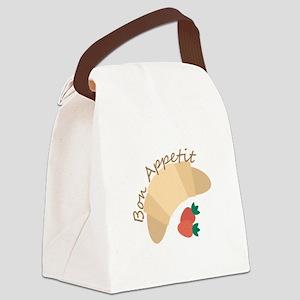 Bon Appetit Canvas Lunch Bag