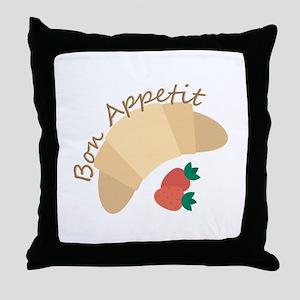 Bon Appetit Throw Pillow