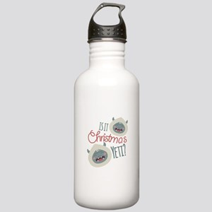 Christmas Yeti Water Bottle