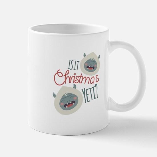 Christmas Yeti Mugs