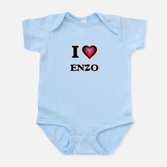 I love Enzo Body Suit