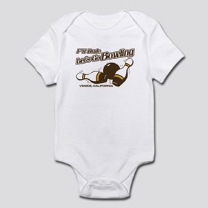 College Humor Bowling Infant Bodysuit