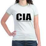 Crazy Insane Abnormal Jr. Ringer T-Shirt