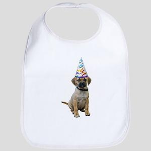 Puggle Party Baby Bib