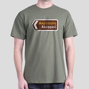 Acropolis, Athens, Greece Dark T-Shirt