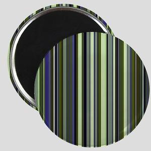 Funky 60s Earthy Stripes Magnet