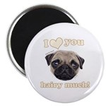 Shug The Scottish Pug Loves You Magnets