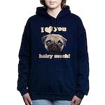 Shug The Scottish Pug Loves You Sweatshirt