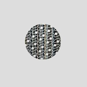 Retro Ring Stripe Mini Button