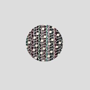 Rings & Stripes Mini Button