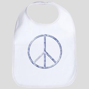 Peace Sign Bib