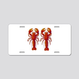CLAWS Aluminum License Plate