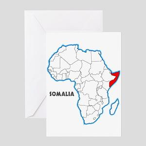 Somalia Greeting Cards