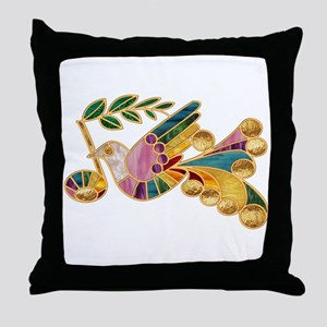 Peace Note Throw Pillow