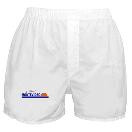 Its Better in Montevideo, Uru Boxer Shorts