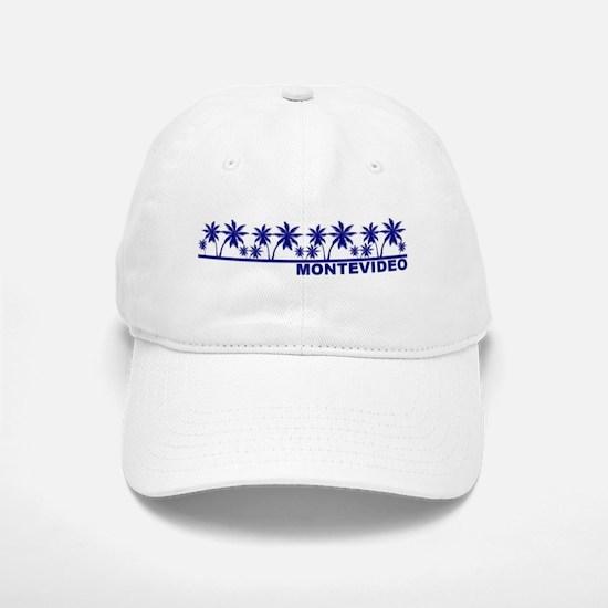 Montevideo, Uruguay Baseball Baseball Cap