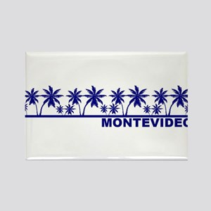Montevideo, Uruguay Rectangle Magnet
