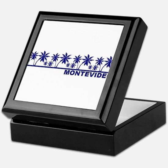 Montevideo, Uruguay Keepsake Box