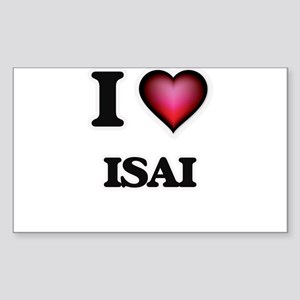 I love Isai Sticker