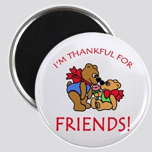 Thankful for Friends Magnet