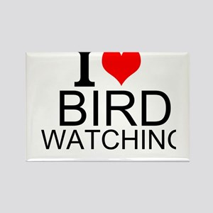 I Love Bird Watching Magnets