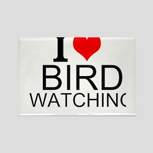 I Love Bird Watching Magnets