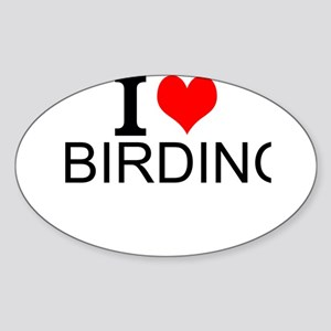 I Love Birding Sticker