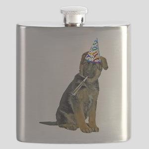 German Shepherd Party Flask