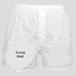 Trivia God Boxer Shorts