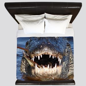 Alligator King Duvet