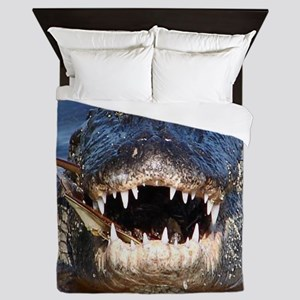 Alligator Queen Duvet