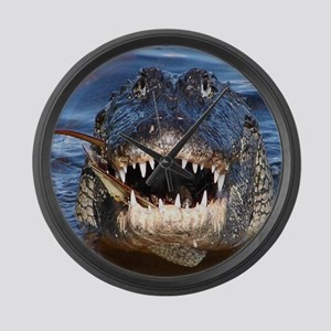 Alligator Large Wall Clock