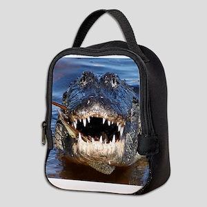Alligator Neoprene Lunch Bag
