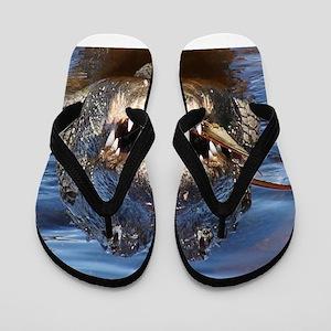 Alligator Flip Flops