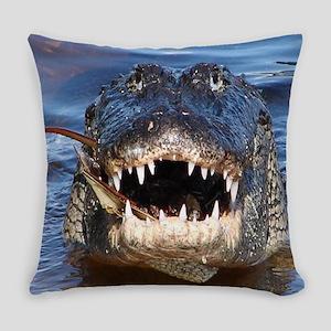 Alligator Everyday Pillow