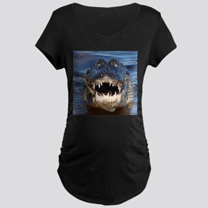 Alligator Maternity T-Shirt