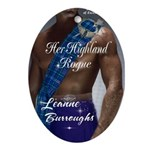 Her Highland Rogue Oval Ornament