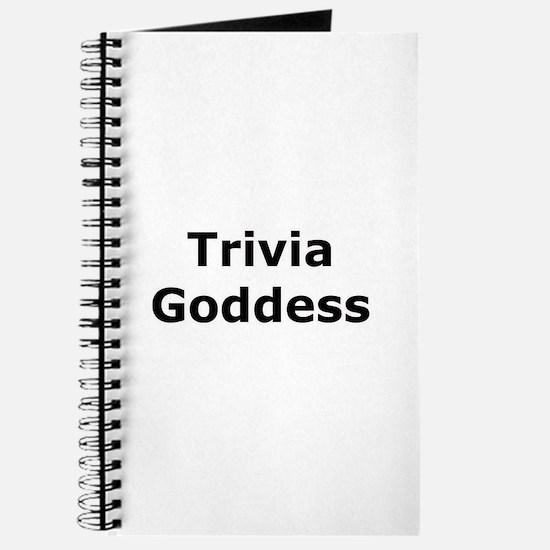 Trivia Goddess Journal