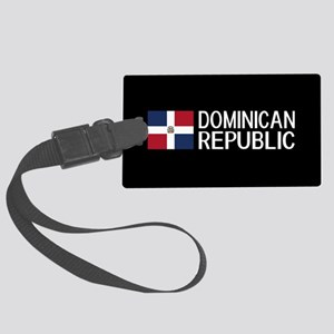 Dominican Republic: Dominican Fl Large Luggage Tag