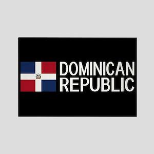 Dominican Republic: Dominican Fla Rectangle Magnet
