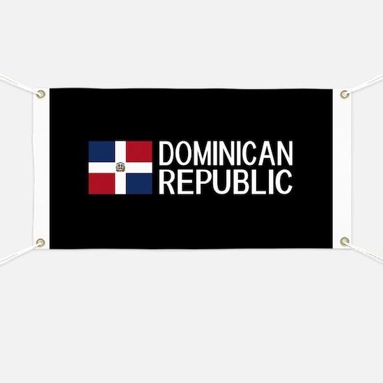Dominican Republic: Dominican Flag & Domini Banner