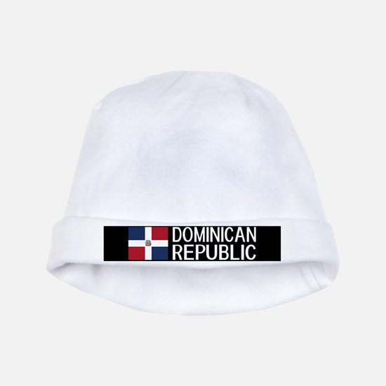 Dominican Republic: Dominican Flag & Domi baby hat