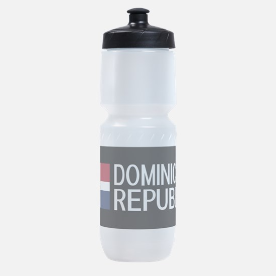 Dominican Republic: Dominican Flag & Sports Bottle