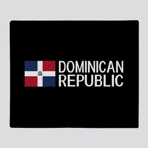 Dominican Republic: Dominican Flag & Throw Blanket