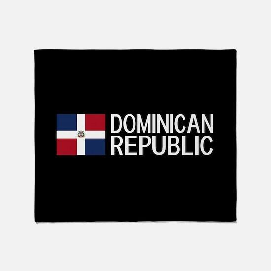 Dominican Republic: Dominican Flag & Throw Blanket