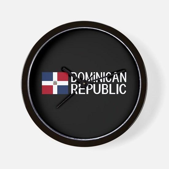 Dominican Republic: Dominican Flag & Do Wall Clock