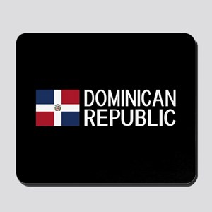 Dominican Republic: Dominican Flag & Dom Mousepad