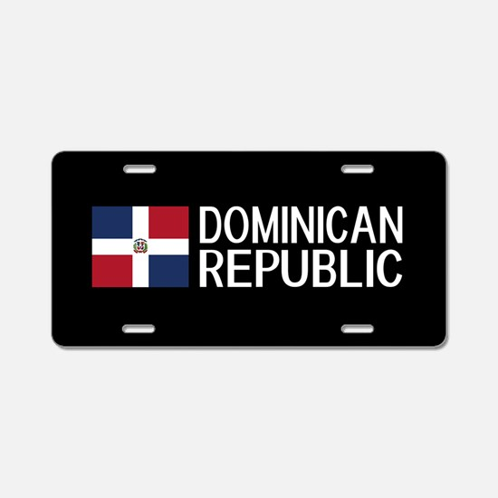 Dominican Republic: Dominic Aluminum License Plate
