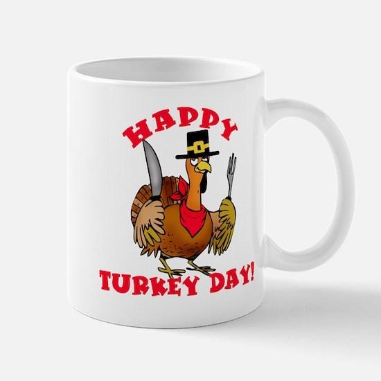 Happy Turkey Day Mug