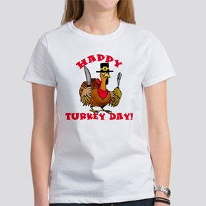 Happy Turkey Day Women's T-Shirt